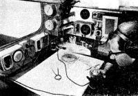 Штурманский уголок яхты «Уиспера»