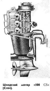 Шведский мотор «500 CS»
