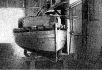 Швертбот во время постройки