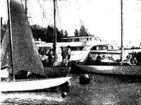 «Сириус» и «Арго» в гавани яхт-клуба ЛВМБ
