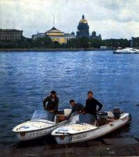 Слева направо: А. Сальников, 3. Балаян, А. Гаврилин