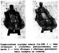 Современные скутеры класса СА-250