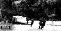 Спуск на воду первого судна клуба имени А. Грина — яхты «Арбина»