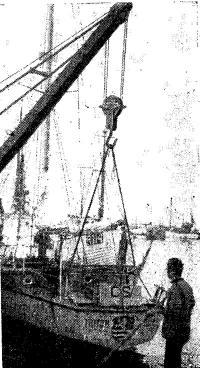 Спуск «Тритона» на Балтике