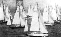 Старт яхт класса Е