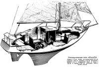 Стеклоцементная яхта «Легенда»
