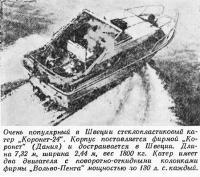 Стеклопластиковый катер «Коронет-24»