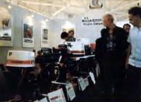Стенд фирмы «Монарк-Кресчент» на выставке