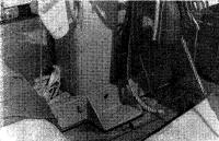 Степс грот-мачты установлен на палубе