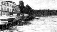 Стоянка катеров на пирсе станции «Водник»