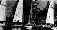 Стоянка яхт возле берега