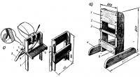 Стойки для подвесного мотора