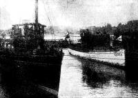 Суда «Общества финляндского мелкого пароходства» «Чайка» и «Базас»