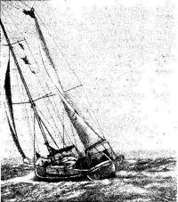 «Сухали» — яхта победителя Р. Нокс-Джонстона