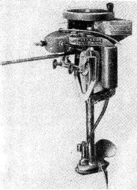 Так выглядели первые моторы «Эвинруд»