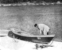 Такие лодки любят каунасские рыбаки