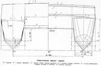 Теоретический чертеж - корпус