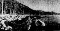 Типичные условия для «швартовки» на байкальских берегах