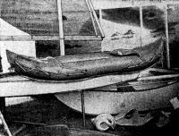 Транспортабельные лодки складная и надувная («Пирайя»)