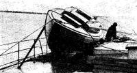 Транспортировка яхты на корабле