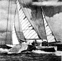 Тримаран «Три чиес»