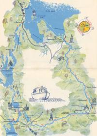 Туристская карта-схема маршрута