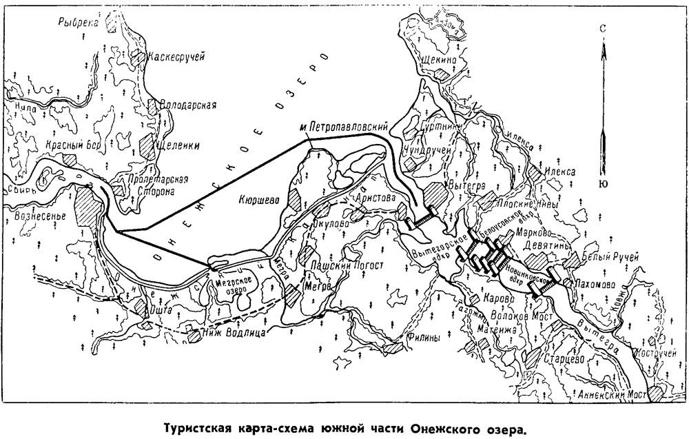 Туристская карта-схема