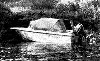 «Тверца» с поднятым мотором