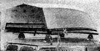 «Твин Дори» на верхнем багажнике автомобиля