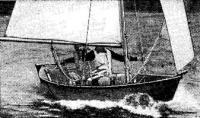«Твин Дори» под парусами