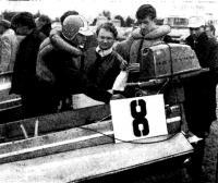 У лодки К. Климовских (3-е общее место в классе SB)