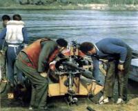 У подвесного гоночного мотора «ГЛМ-250» Ульяновского завода