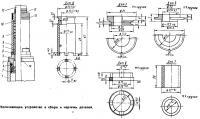 Уплотняющее устройство в сборе и чертежи деталей