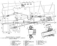 Установка двигателя и валопровод
