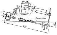 Установка двигателя с угловым редуктором на лодке
