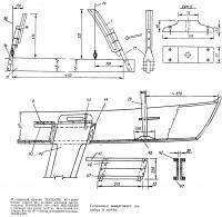Установка швертового колодца и мачты