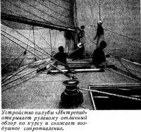 Устройство палубы «Интрепид»