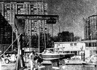 В гавани Чикагского яхт-клуба Белмонт Харбор