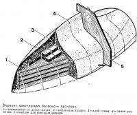 Вариант конструкции болвана пуансона