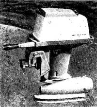Вариант промышленного образца подвесного водометного мотора