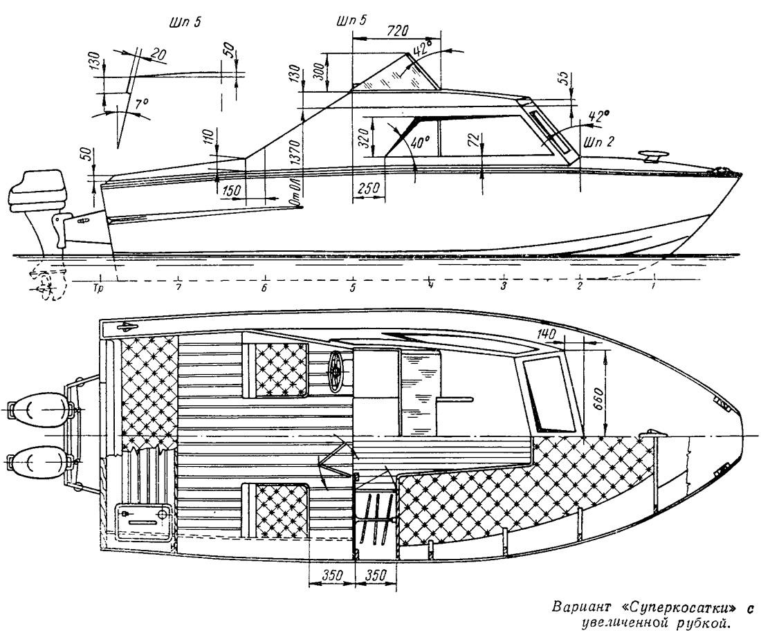 Как сделать корпус катера своими руками 59