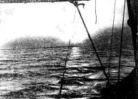Вид на море с борта яхты