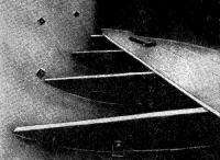 Вид на обшивку армоцементного катера изнутри