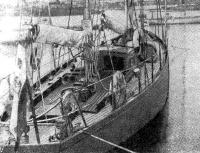 Вид на палубу яхты «Капер»