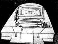 Вид на пристроенный кормовой отсек