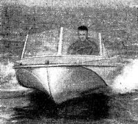 Вид спереди на «Казанку-5»