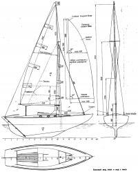 Вид яхты
