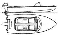 «Вихрь» Лодка тренера