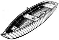 Внешний вид лодки-скифа
