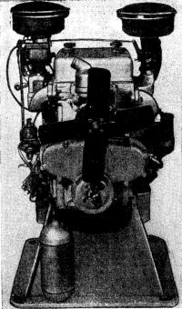 Внешний вид мотора, установленного вместо «волговского»